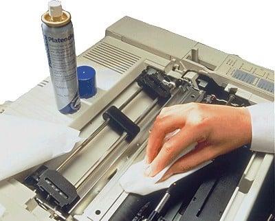limpiar impresora con agua