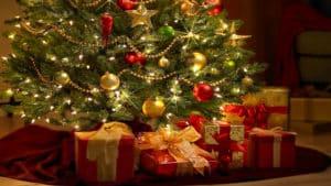 Arbol de Navidad limpiar