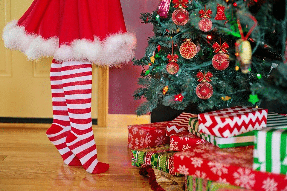 como limpiar un arbol de navidad