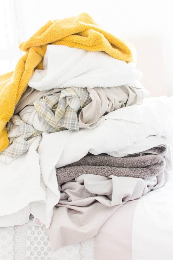 lavar ropa de trabajo sucia