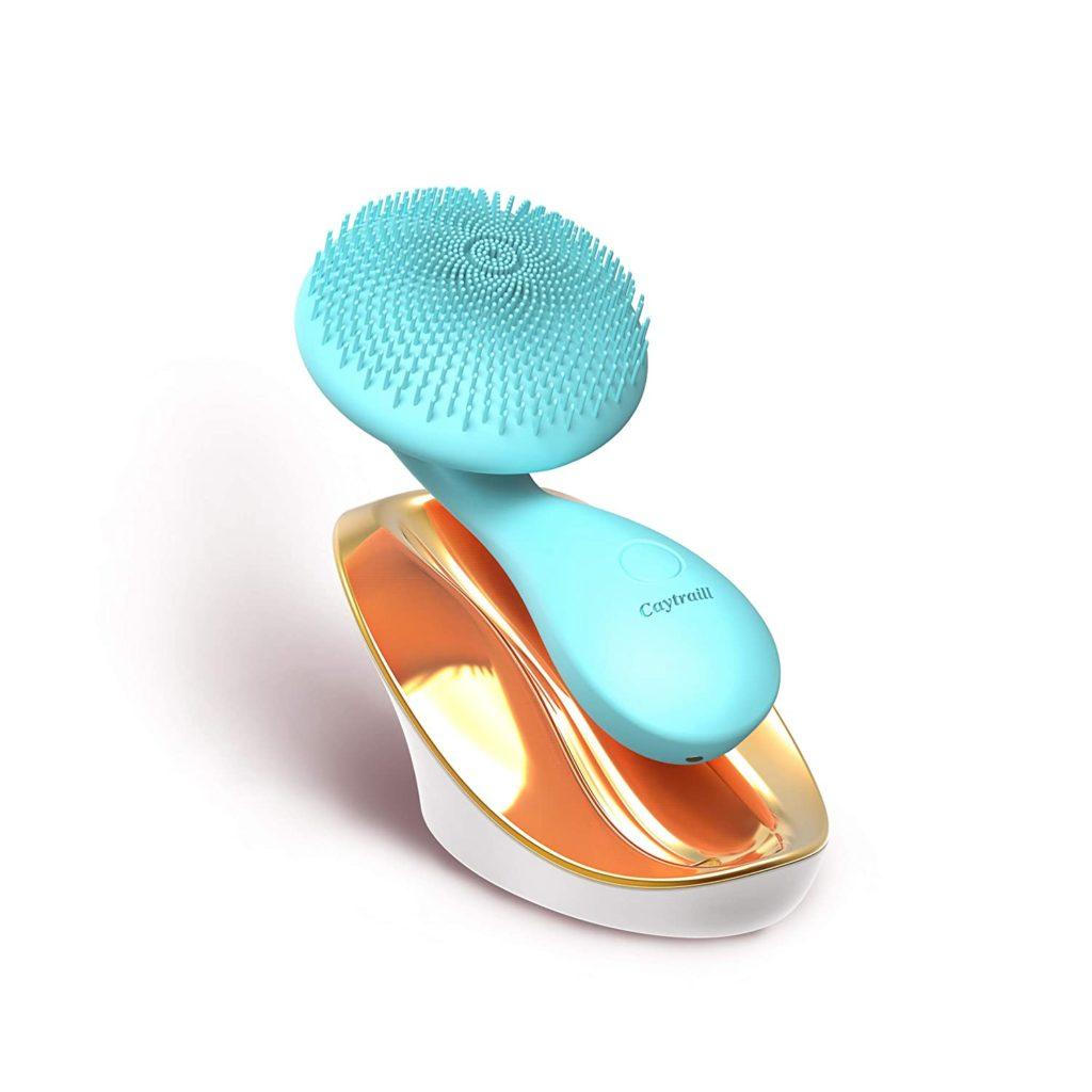 Caytraill, cepillo limpiador ultrasónico para la piel