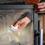 limpieza mantenimiento estufa chimenea